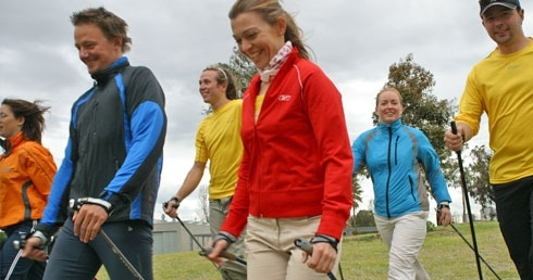 TEACH NORDIC WALKING